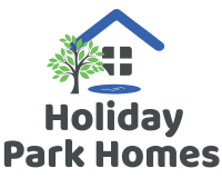 Holiday Park Homes logo - new with tree grey text - text underneath